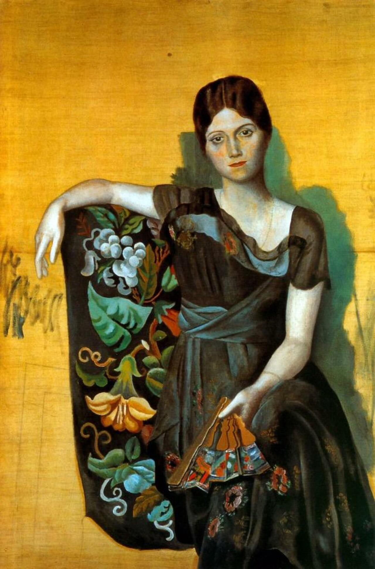 ~ Portrait of Olga in an Armchair,1917 ~  by Pablo Picasso http://t.co/PQNDJSsmHJ