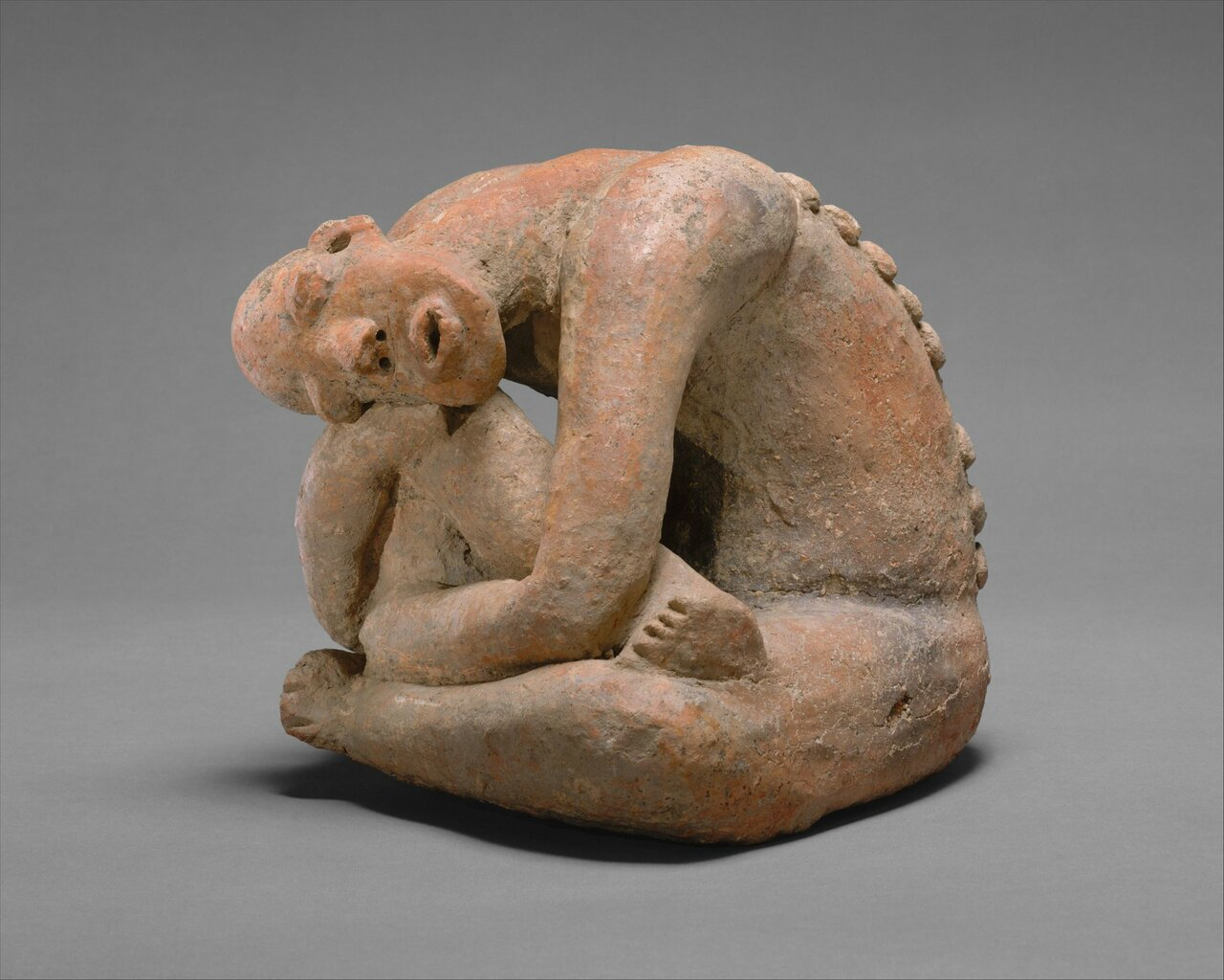 RT @metmuseum: This terracotta sculpture comes from Jenne-jeno, the oldest known city in sub-Saharan Africa. http://met.org/1PTLtgz http://t.co/8w2xZJineB