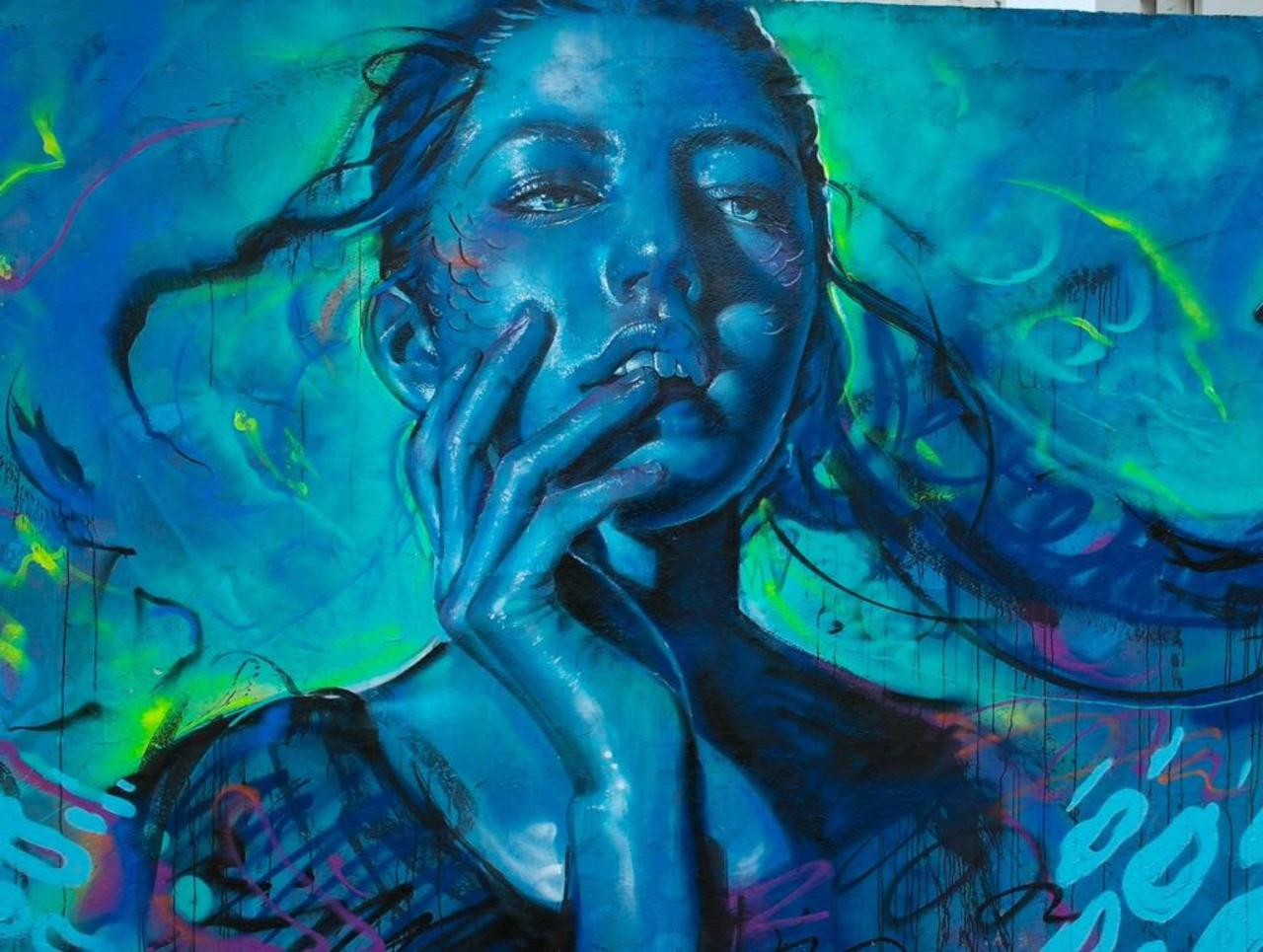 RT @GoogleStreetArt: Thiago Valdi latest Street Art piece titled 'Day Dreamer'  #art #mural #graffiti #streetart http://t.co/FZ7RYIBPhd