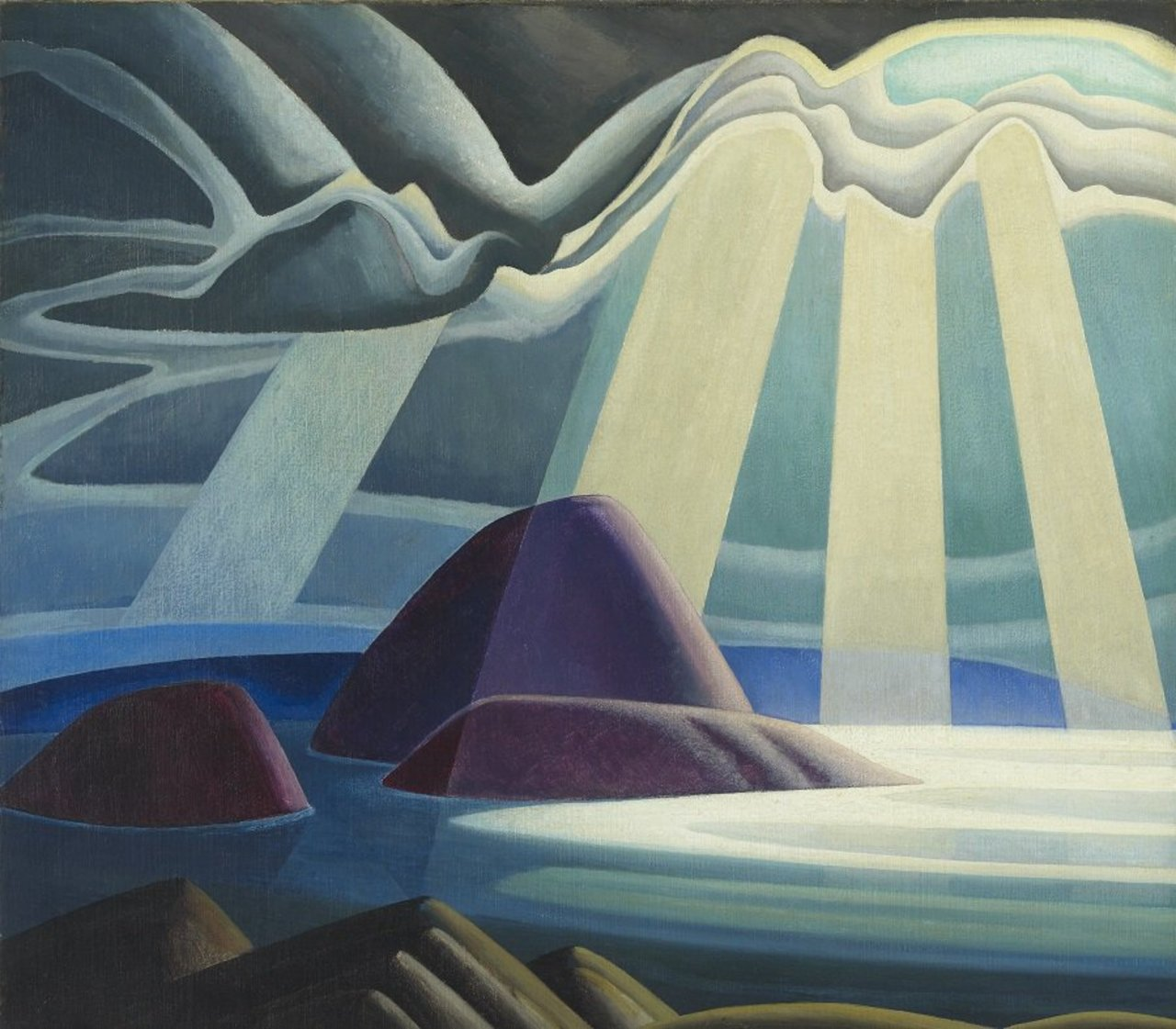 Curated by @SteveMartinToGo, Idea of North: The Paintings of Lawren Harris opens in 2 weeks. http://bit.ly/1XrJesJ https://t.co/0U0uufP1RF