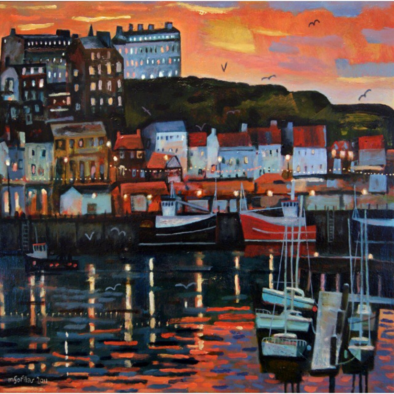 Whitby Harbour - A time to reflect by Mark Sofilas http://bit.ly/1YjG0XI #Art #NorthYorkshire https://t.co/Ovvci1LEPq