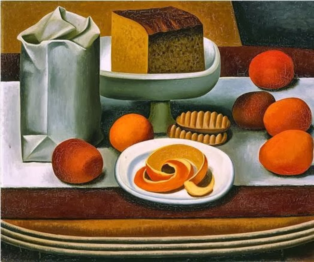 Auguste Herbin (1882–1960 French) 'Still Life' 1920 #art I love #cubism https://t.co/byIKuAfhL6