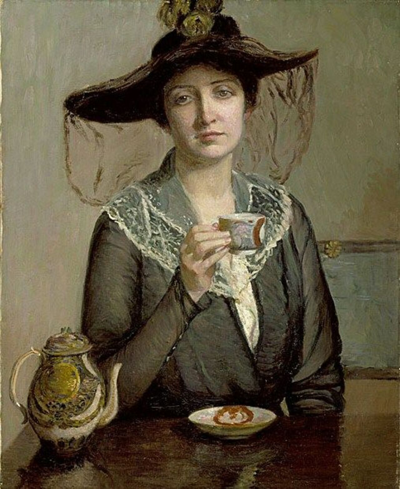 RT @marcelcel3: Its About Time: Tea - Lilla Cabot Perry (American artist) 1848 - 1933#art #painting #twitart https://t.co/tVV3Tm4dfd
