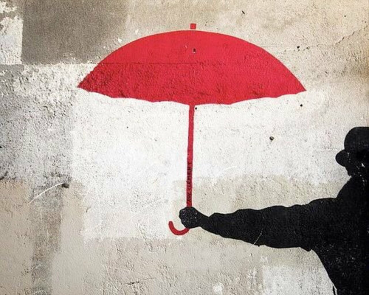 Mr. Umbrella – #Minimalism #StreetArt – Be ▲rtist – Be ▲rt Magazine http://crwd.fr/2k3DaJA https://t.co/VotaJqZPyz