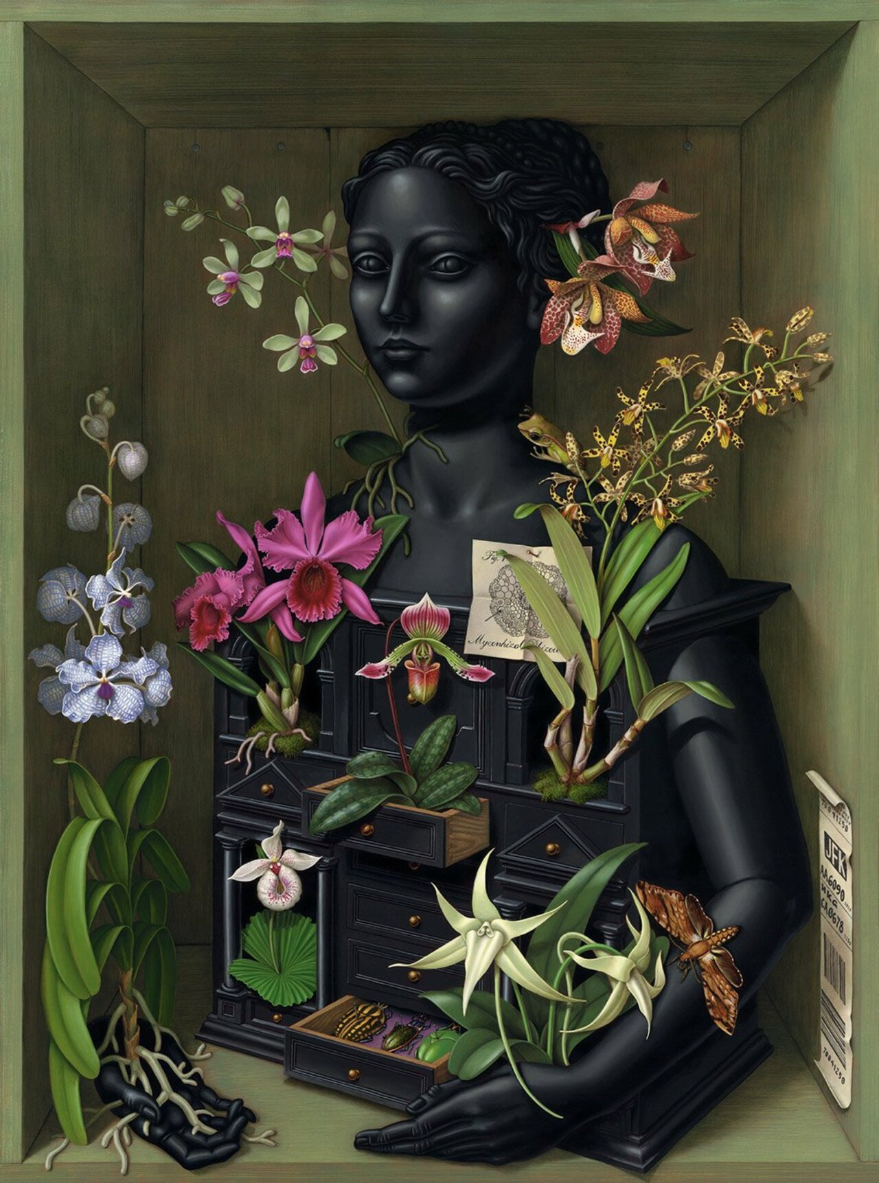 RT @ClaudMang: Orchid CabinetMadeline von Foerster (b.1973)American Artist based in Cologne https://t.co/F1aWXeo4AL