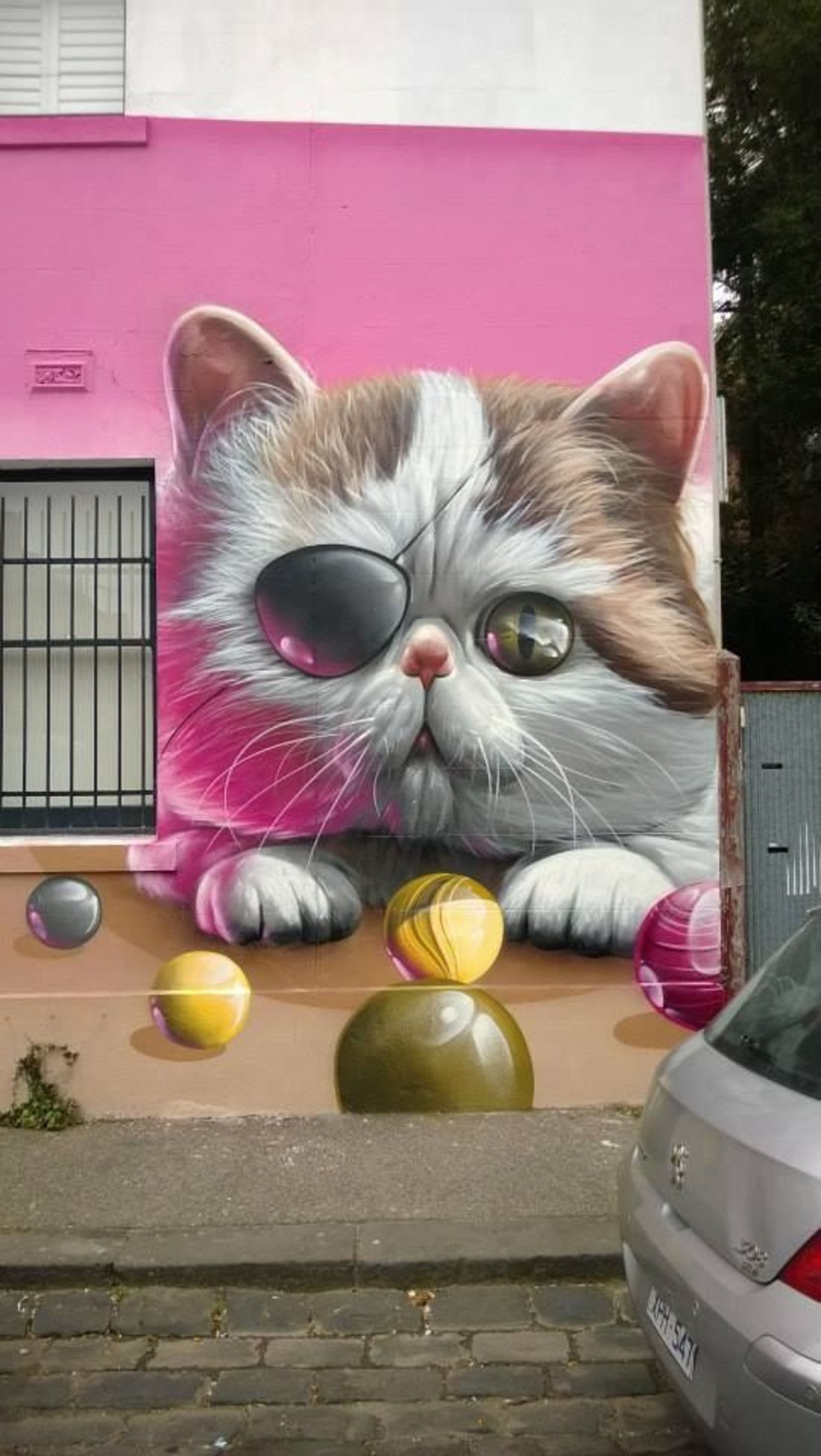 Street art in Melbourne Australia