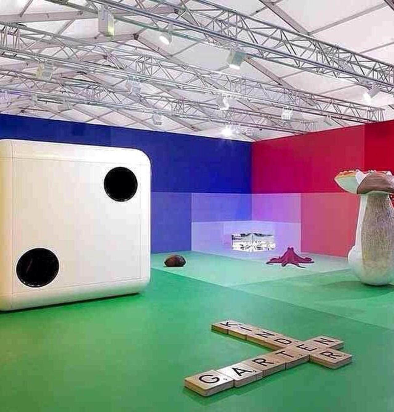 bold installations at @friezelondon #London #art #FriezeLondon http://t.co/OUcP3kXvUa