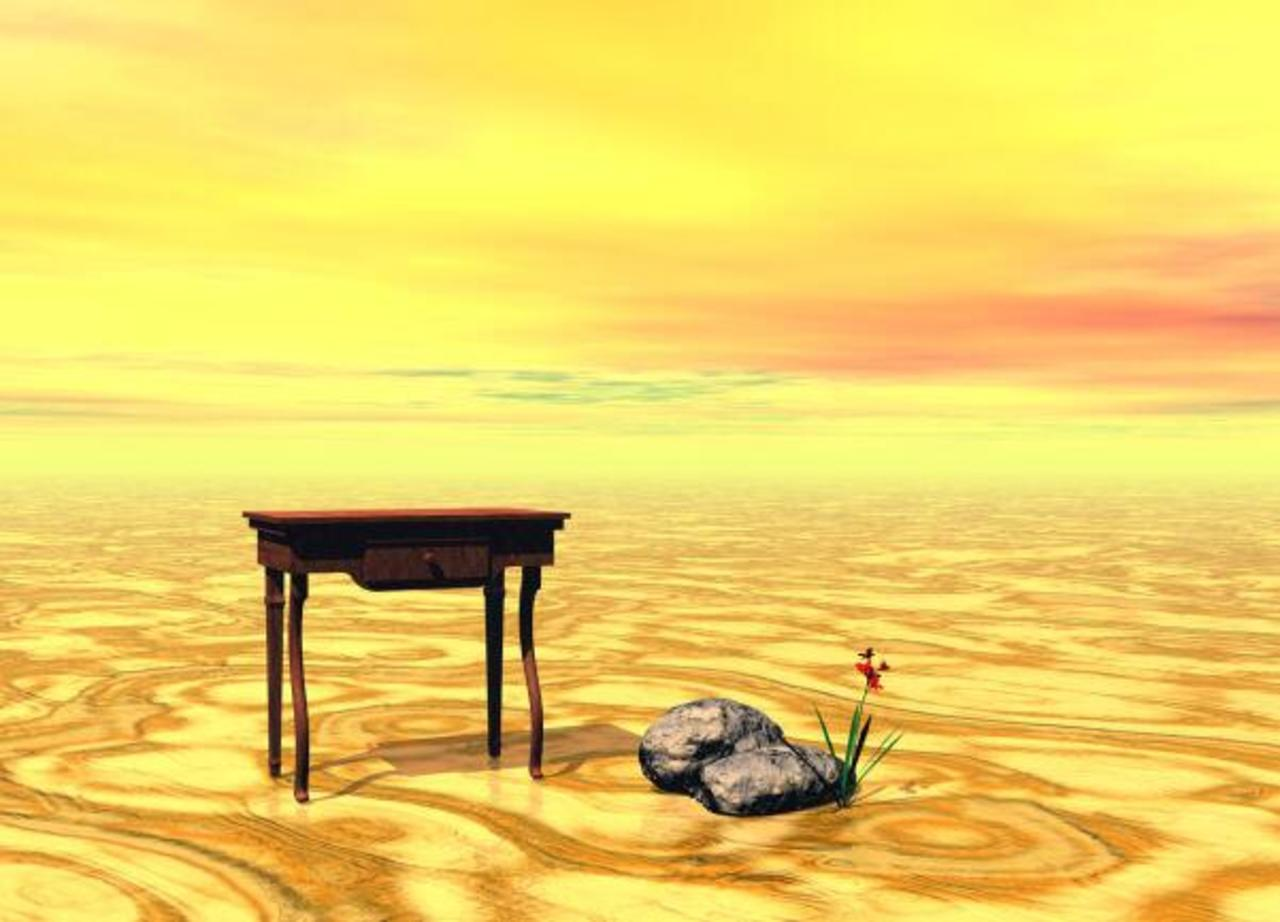 MEETING ON PLAIN http://bit.ly/12IsmCv http://t.co/lQwuBJW3Ws #creative #digital #art #surreal #yellow #landscape #amazing #design #fb