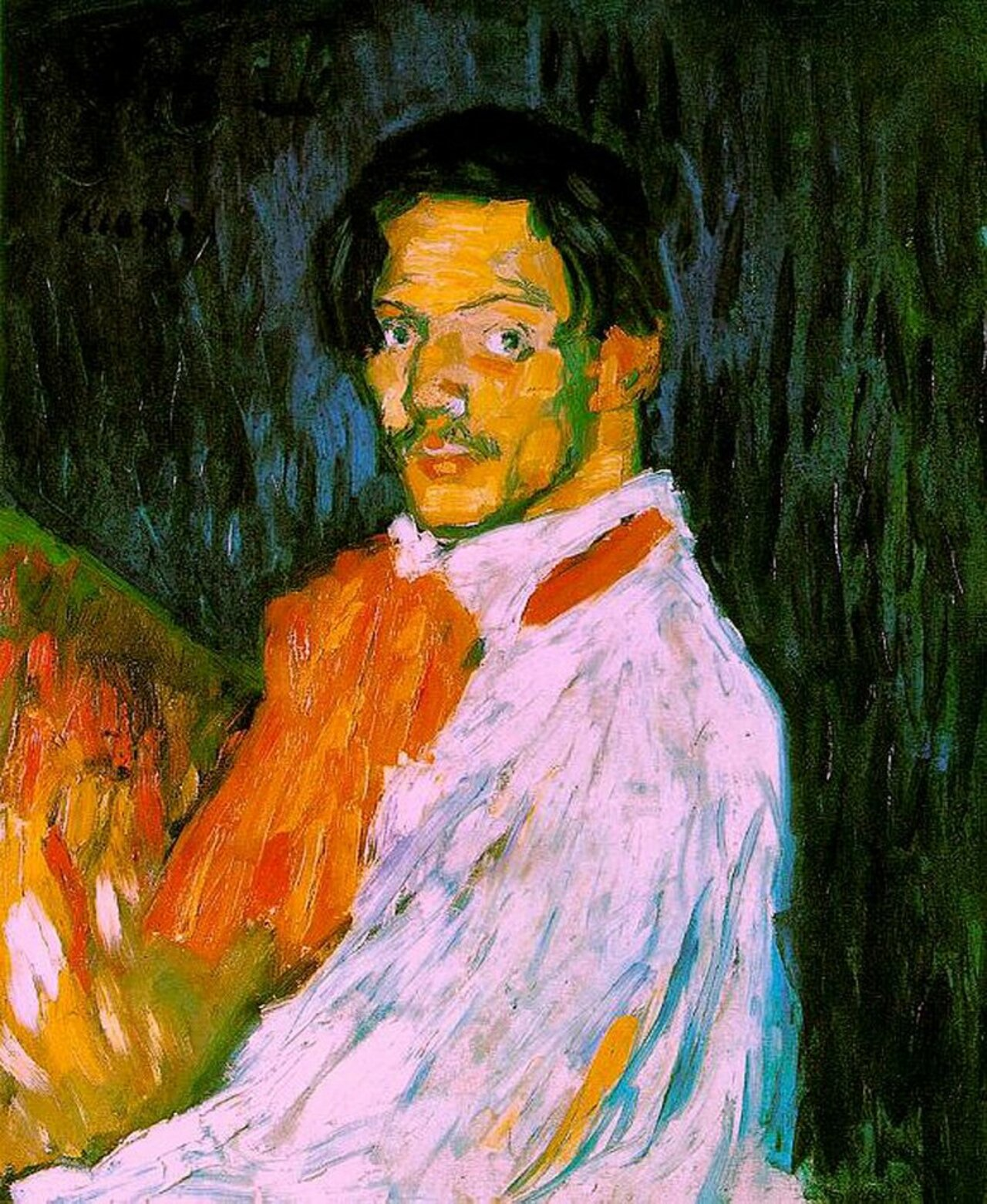 Self-Portrait #impressionism #picasso https://t.co/bOrcYGRUHd