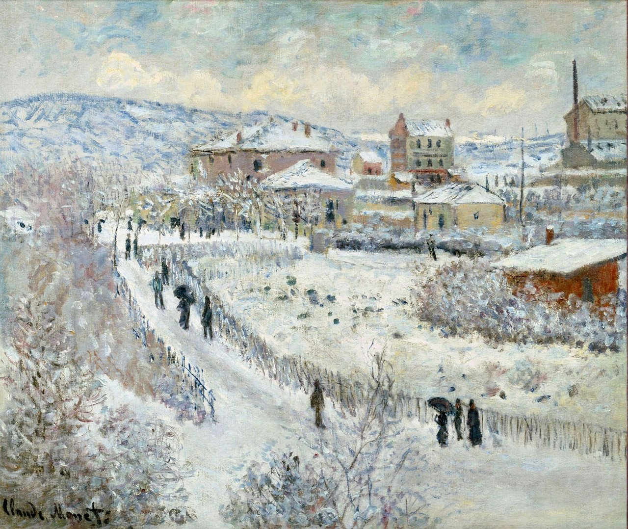 View of Argenteuil in the Snow, 1875 https://www.wikiart.org/en/claude-monet/view-of-argenteuil-in-the-snow #frenchart #impressionism https://t.co/KxKUUkGGPQ